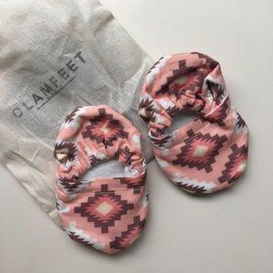 Clamfeet Other - Coral Southwest Print Infant Shoes