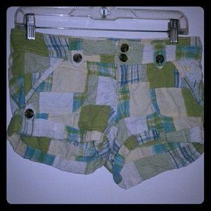 Grane Pants - Patchwork Shorts