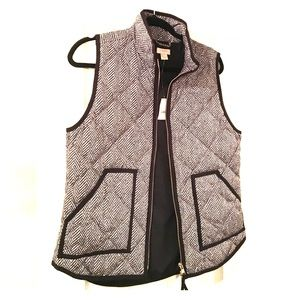 J.Crew Factory Jackets & Blazers - NWT J.Crew Herringbone Vest