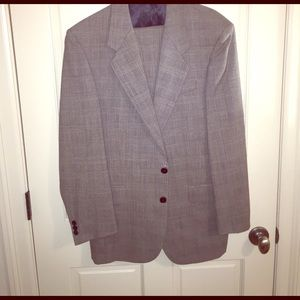 Peter Rutz Other - Custom Designed Peter Rutz Grey Suit