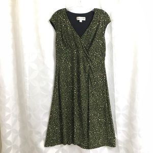 Donna Ricco Dresses & Skirts - Surplice Midi Dress