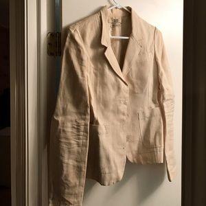 EDUN Jackets & Blazers - Beige hemp jacket from Edun
