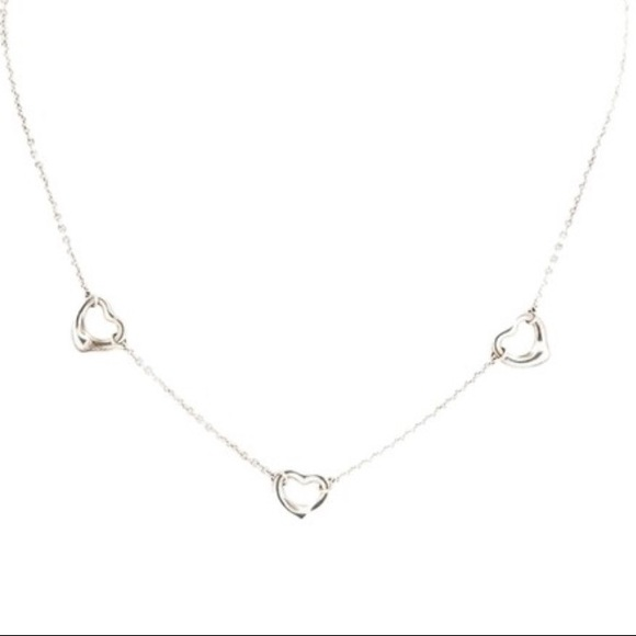 5dfcf733b6f Tiffany & Co. Jewelry | Tiffany Co Elsa Peretti 3 Open Heart ...