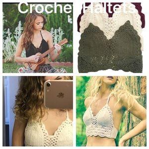 Crochet Swim Halter