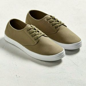 Urban Outfitters Other - UO Olive plimsoll sneakers