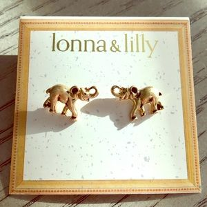 lonna & lilly Jewelry - Elephant earrings