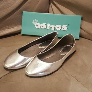 Ositos Shoes - Silver Flats