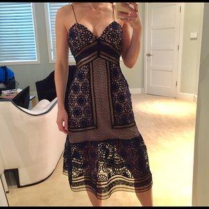 Self Portrait  Dresses & Skirts - SELF PORTRAIT lace midi dress