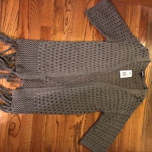 Freshman  Sweaters - Brand New Grey Shrug