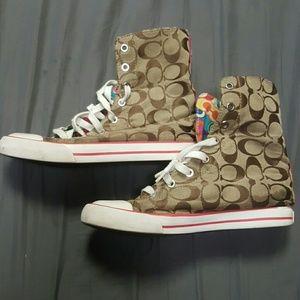 Coach Shoes - Coach high tops