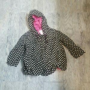 1822 Denim Other - Black and white polka dot Oshkosh jacket