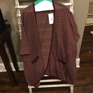 Entro Sweaters - Open front knit cardigan