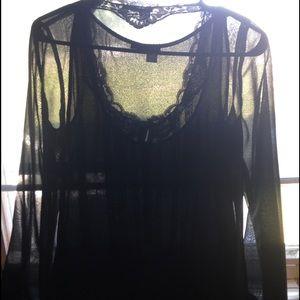 tapemeasure Tops - Black dressy top
