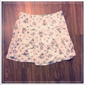 Maurices Dresses & Skirts - CLEARANCE Maurice's floral skirt: elastic waist