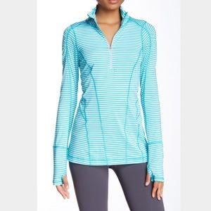 ❗️SALE❗Zella Run Stripe Half Zip Pullover EUC
