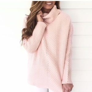 Goodnight Macaroon Sweaters - NWT Goodnight Macaroon knit turtleneck sweater