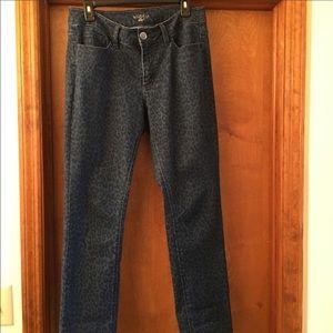 Lee animal print jeans. Size 12