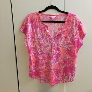 Lilly Pulitzer Duval Top Rule Breakers