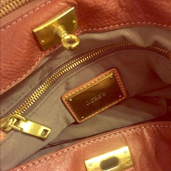 J. Crew Bags - J. Crew Brompton Hobo Leather Bag
