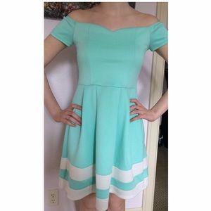 Charlotte Russe Dresses & Skirts - Charlotte Russe aqua dress