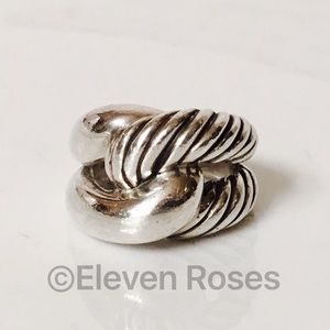 David Yurman Jewelry - David Yurman Large Sterling Infinity Knot Ring