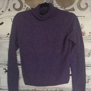 Valerie Stevens Sweaters - Valerie Stevens purple Cashmere turtleneck sweater