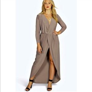 ASOS Curve Dresses & Skirts - Plus size faux wrap dress