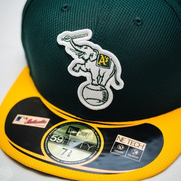 new products e808f 95db2 New Era 59FIFTY Oakland A s Batting Practice Hat
