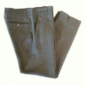BLK DNM Pants - BLK DNM grey cropped slim trouser pants NEW