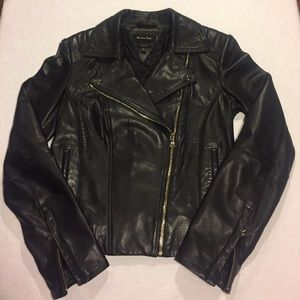Mossimo Dutti (sister co. of Zara) Leather Jacket