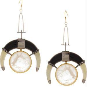 Eddie Borgo Jewelry - Amazing Eddie Borgo moon drop earrings