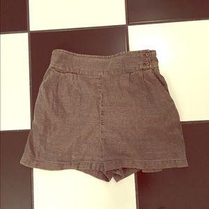 Kimchi Blue Pants - Shimmer Kimchi Blue shorts