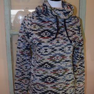 Derek Heart Cowl Neck sweatshirt