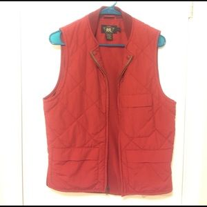 Ralph Lauren RRL Other - RRL quilted red vest