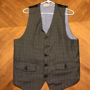 Sovereign Code Other - Sovereign Code grey plaid vest M