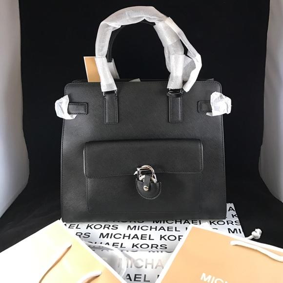 937a9b7bf0b1 Michael Kors Bags | Emma Large Saffiano Tote | Poshmark