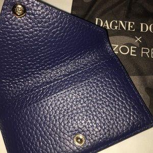 Dagne Dover Accessories - NEW Dagne Dover Navy Blue Card Case