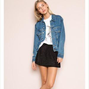 Brandy Melville Dresses & Skirts - NWT Brandy Melville Suade Skirt