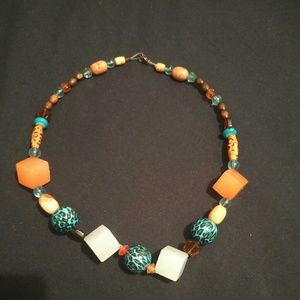 Tropical necklace