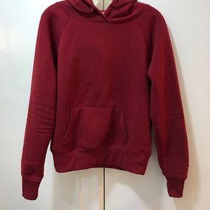 Sweaters - Red/burgundy hoodie