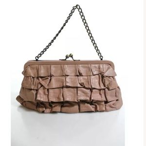 Cynthia Rowley Handbags - Cynthia Rowley pink leather clutch 👛