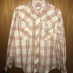 NICE Western Wrangler Pearl Snap Shirt 鸞 