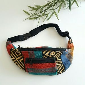Handbags - Tribal print fanny pack festival travel waist bag