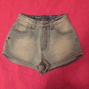 Somedays Lovin Pants - SOMEDAYS LOVIN denim shorts
