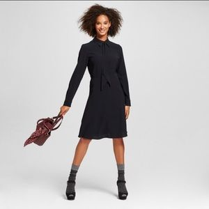 WhoWhatWear Dresses & Skirts - Who What Wear Midi tie neck dress