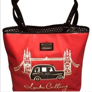 """Lulu Handbags - """"London Calling"""" LULU by LULU Guinness tote bag"""