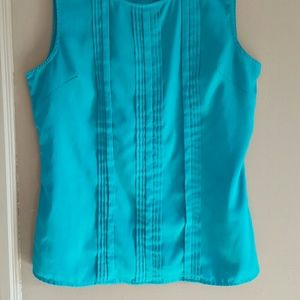 Banana Republic Tops - Banana Republic Turquoise Blue Pullover Top Size M