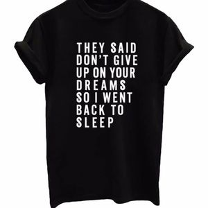 ⚡️Pre-Order⚡️Don't Give Up On Your Dreams Tee