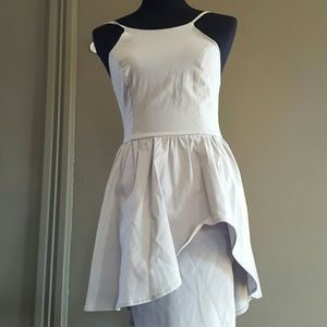 Lulu Dresses & Skirts - LuLu Grey Cocktail Dress Size Small