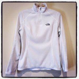 The North Face Tops - The North Face Fleece White XS